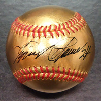 Miguel Cabrera Autographed 24 kt. Gold Baseball