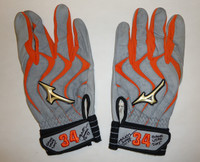 James McCann Game Used Batting Gloves