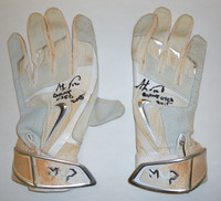 Anthony Gose Game Used Batting Gloves