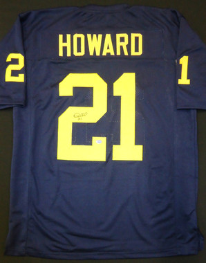 Desmond Howard Autographed Michigan Wolverines Jersey
