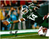 Tony Lippett Autographed Photo