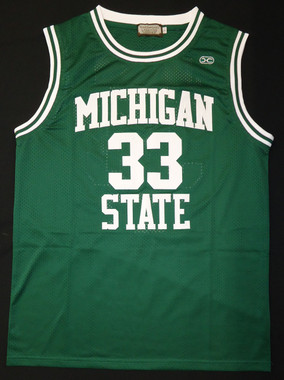 Magic Johnson Autographed MSU Spartans Jersey