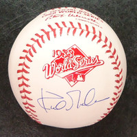 Kirk Gibson 1988 World Series Baseball