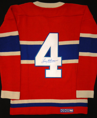Jean Beliveau Autographed Sweater