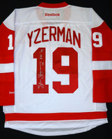 Steve Yzerman Autographed Detroit Red Wings Jersey