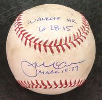 James McCann Game Used Baseball