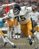 Joe Greene Autographed Pittsburgh Steelers 16x20 Photo #1