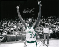 Magic Johnson Autographed 16x20 Photo #1 - MSU Spotlight (Pre-Order)