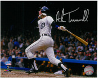 Alan Trammell Autographed 8x10 Photo #1 - 84 World Series Homer (Pre-Order)