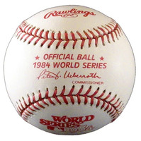 Alan Trammell Autographed Baseball - 1984 World Series Ball inscribed MVP or HOF (Pre-Order)