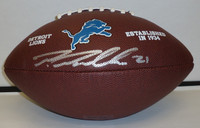 Ameer Abdullah Autographed Detroit Lions Football