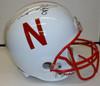 Ameer Abdullah Autographed Nebraska Cornhuskers Helmet