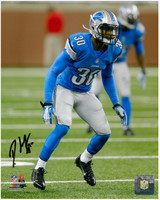 Darius Slay Autographed Detroit Lions 8x10 Photo #1 - Rookie Season Action
