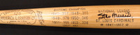 Stan Musial Autographed Louisville Slugger Game Model Bat  Batting Titles Engraved