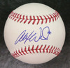 Alex Wilson Autographed Baseball