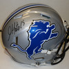 Golden Tate Autographed Detroit Lions Speed Helmet