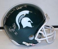 Tony Lippett Autographed MSU Spartans Helmet