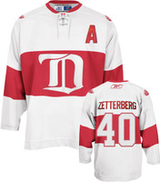 Henrik Zetterberg Autographed Detroit Red Wings 2009 Winter Classic Jersey (Pre-Order)