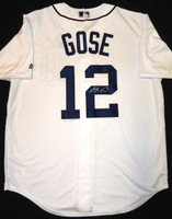 Anthony Gose Autographed Jersey