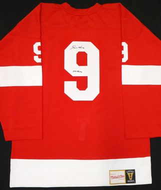 Gordie Howe Autographed Mitchell & Ness Jersey
