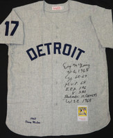 Denny McLain Multi Inscription Jersey