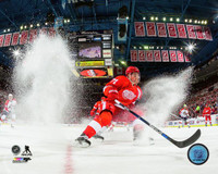 Dylan Larkin Autographed Detroit Red Wings 16x20 Photo #1 - Ice Spray