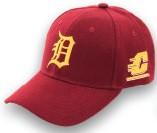 Detroit Tigers CMU Chippewas Hat