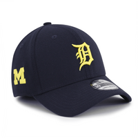 Detroit Tigers Michigan Wolverines Flex Fit Hat