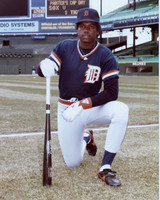 Rod Allen Autographed 8x10 Photo #1 - 1984 Detroit Tigers (Pre-Order)
