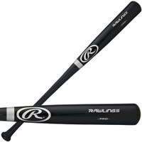 Rod Allen Autographed Rawlings Pro Bat (Black) (Pre-Order)