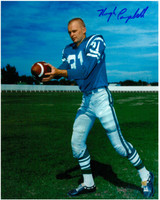 Hugh Campbell Autographed Saskatchewan Roughriders 8x10 Photo #1