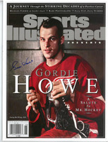 Gordie Howe Autographed 2012 Sports Illustrated Commemorative Magazine