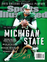"Connor Cook Autographed Sports Illustrated (""Mike"" Dantonio Error)"