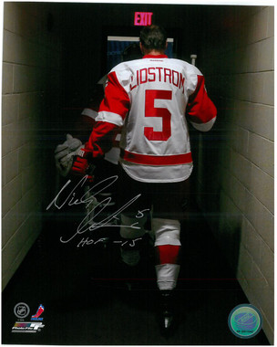 Nicklas Lidstrom Autographed Photo