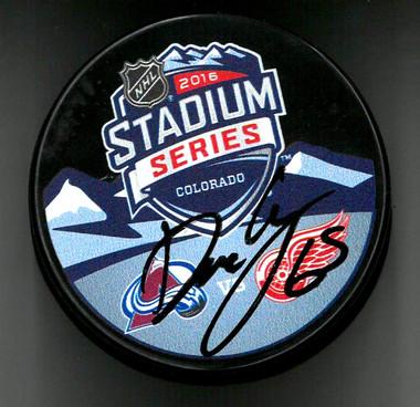 Danny DeKeyser Autographed Hockey Puck