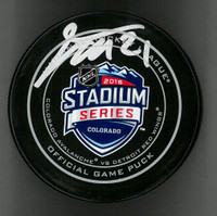 Tomas Tatar Autographed Hockey Puck