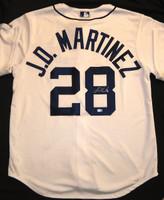 J.D. Martinez Autographed Detroit Tigers Home Jersey (Pre-Order)