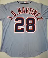 J.D. Martinez Autographed Detroit Tigers Road Jersey (Pre-Order)