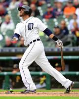 J.D. Martinez Autographed 8x10 Photo #5 - Home Batting 2016 (Pre-Order)