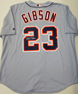 Kirk Gibson Autographed Road Jersey
