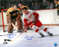 Gordie Howe & Gerry Cheevers Autographed Photo
