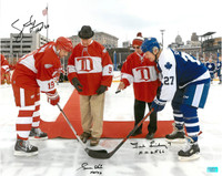 Gordie Howe, Ted Lindsay, and Steve Yzerman