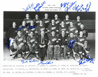 1953/54 Detroit Red Wings Team Signed Photo