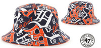 Detroit Tigers 47 Brand Bravado Bucket Hat