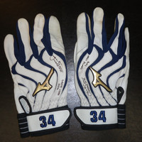 James McCann Game Used Batting Gloves