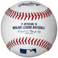 Steven Moya Autographed Official Major League Baseball (Pre-Order)