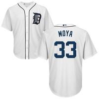 Steven Moya Autographed Detroit Tigers Home Jersey (Pre-Order)