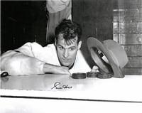 Gordie Howe Autographed Detroit Red Wings 16x20 Photo #4 - Hat Trick