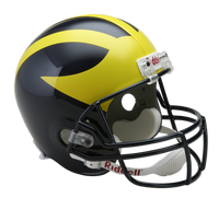 Lloyd Carr Autographed Michigan Wolverines Deluxe Replica Helmet (Pre-Order)