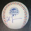 Jordan Zimmermann Autographed 2013 All Star Baseball
